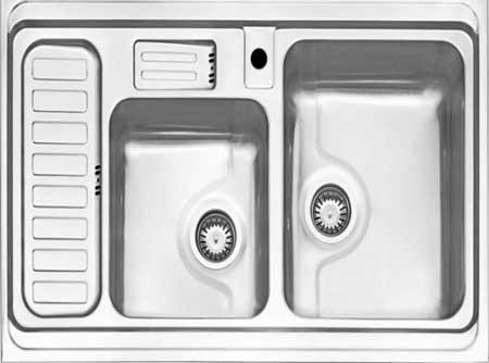 آموزش سینک ظرفشویی آشپزخانه